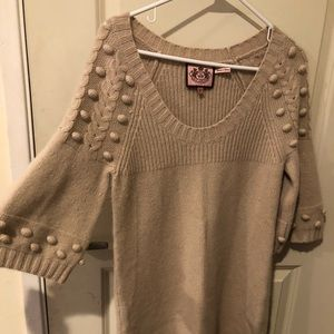 Juicy Couture knee length sweater dress